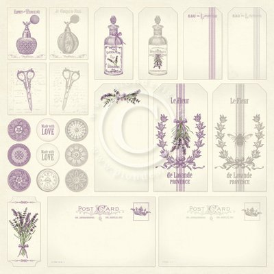 Scent of Lavender - Tags