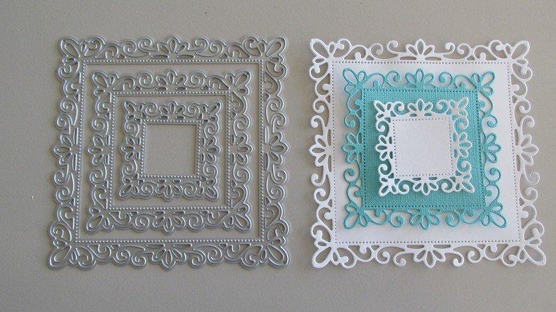 Fancy Frame die set