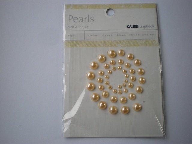 Kaisercraft Pearls 50 pcs - Click to Select