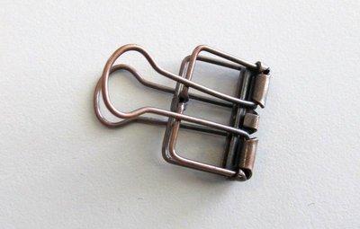 Hollow Metal Binder Clips - Click to select