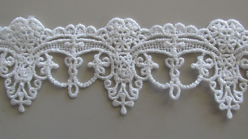 White Novelty Lace