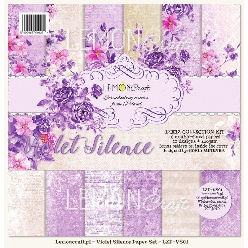 Violet Silence 12x12 Paper Set
