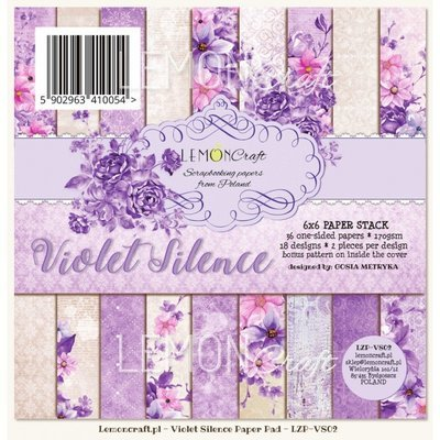Violet Silence 6x6 Paper Pad