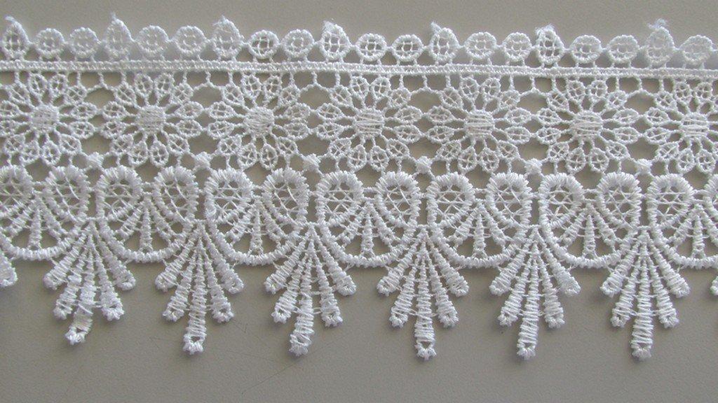 Victorian Arch Lace - White