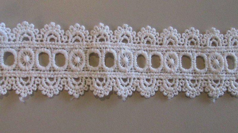 Ribbon Lace - White