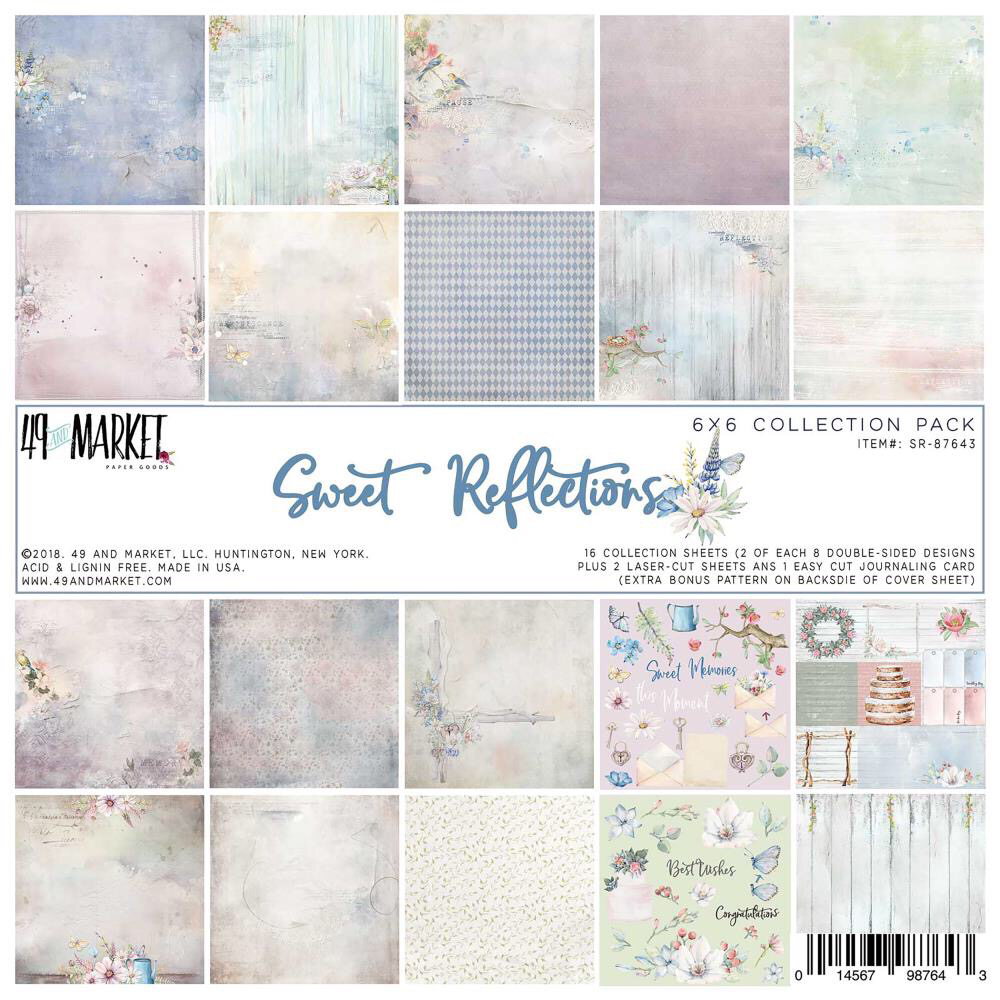 Sweet Reflections paper pack