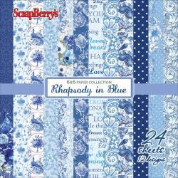 RHAPSODY in BLUE 6x6 paper pack