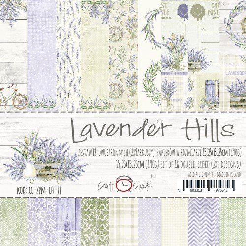 LAVENDER HILLS 12x12 Paper Collection