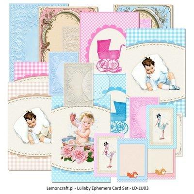 Lullaby Ephemera Cards