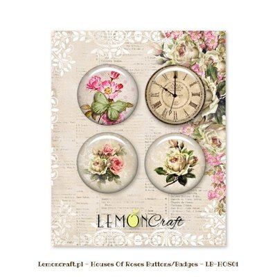 House of Roses Buttons