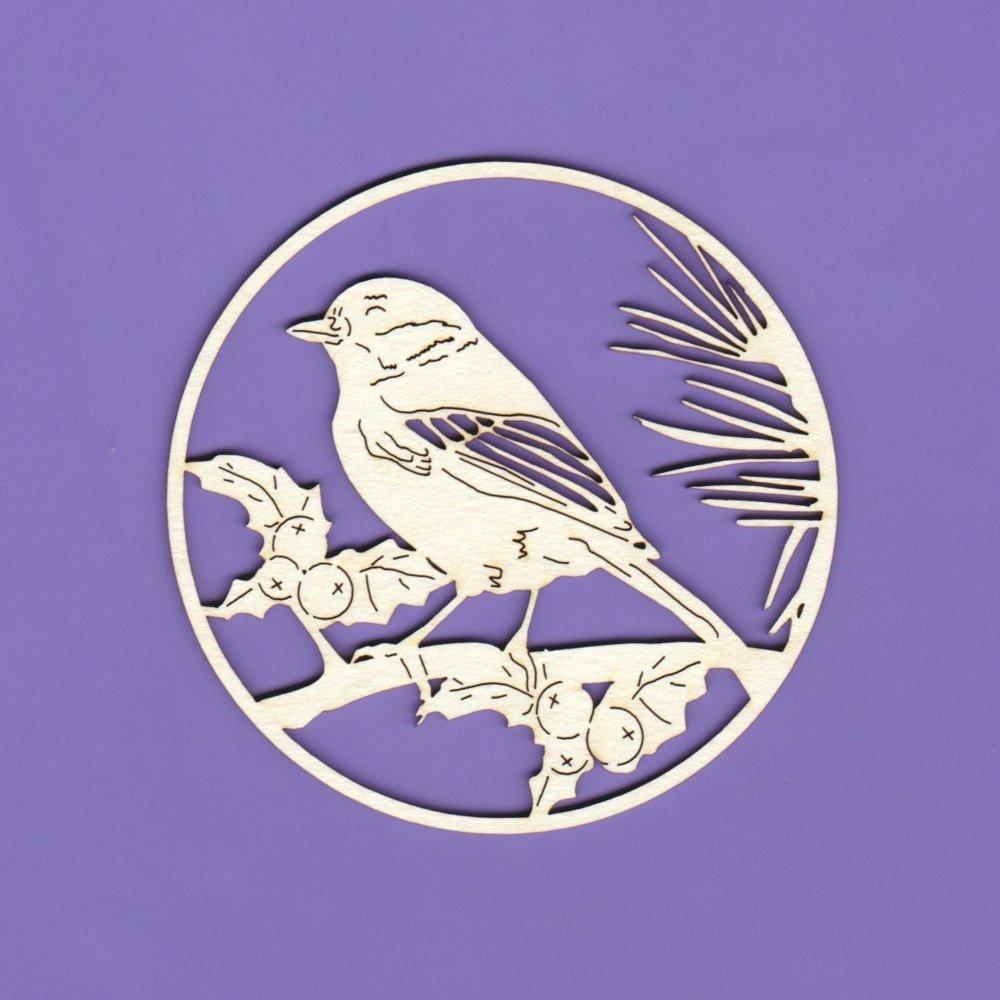 Ornament - Bird on Branch
