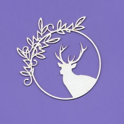 Framed Deer 2