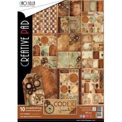 CIAO BELLA Codex Leonardo A4 Creative Pad