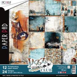 CIAO BELLA Jazz Club 12x12 Paper Pad