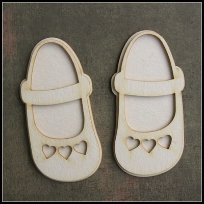 Baby Girl's Shoes with Hearts