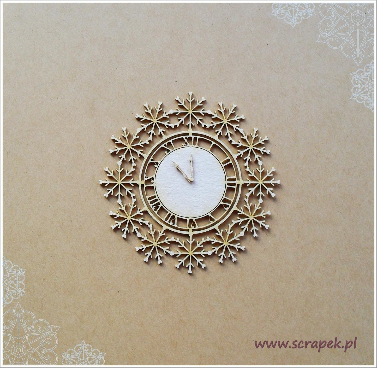 Snowflake Clock