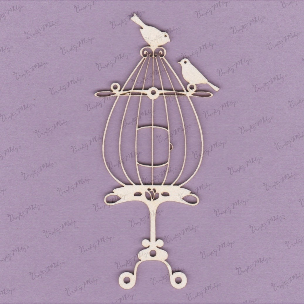 Birds on Cage