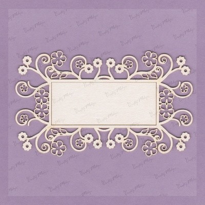 Decorative Rectangular Frame 3