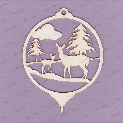 Pendant - Deer