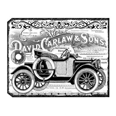 Chunky Vintage Car-