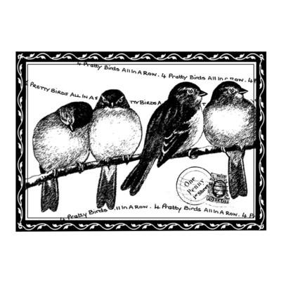 Four Pretty Birds