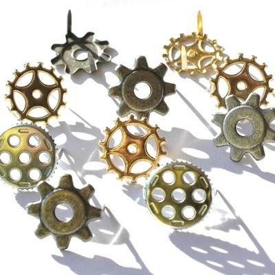 Gears x 12 Brads