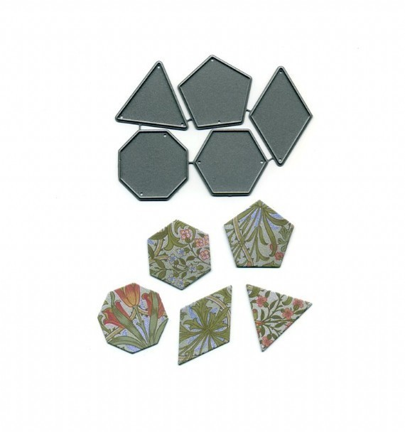 Patchwork Shapes -  Medium