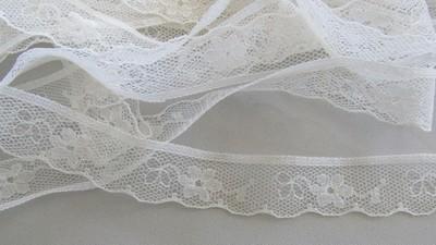 Cream Floral Lace