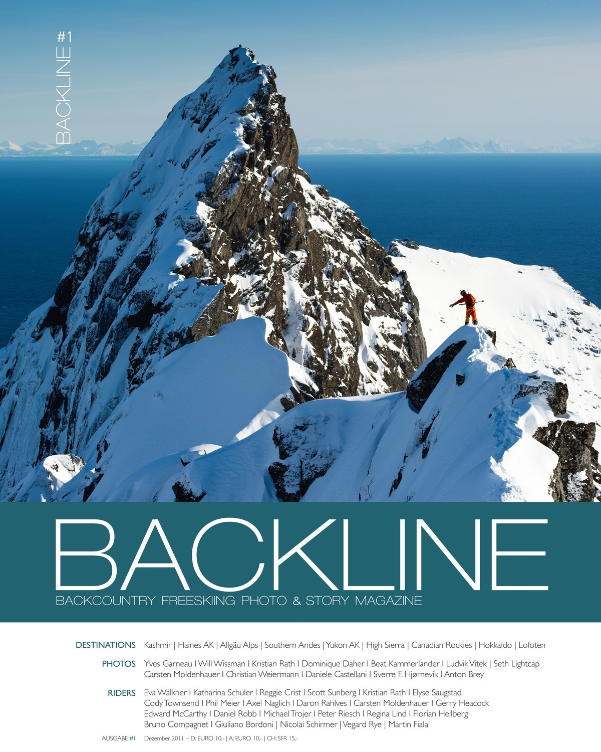 BACKLINE Backcountry Freeskiing Photo & Story Magazine 2011