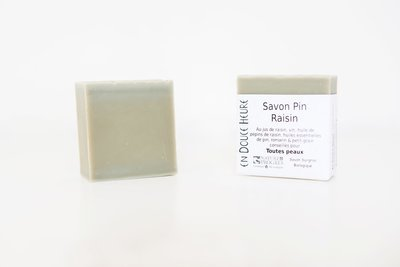 Savon PIN RAISIN