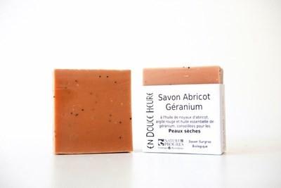 Savon ABRICOT GÉRANIUM