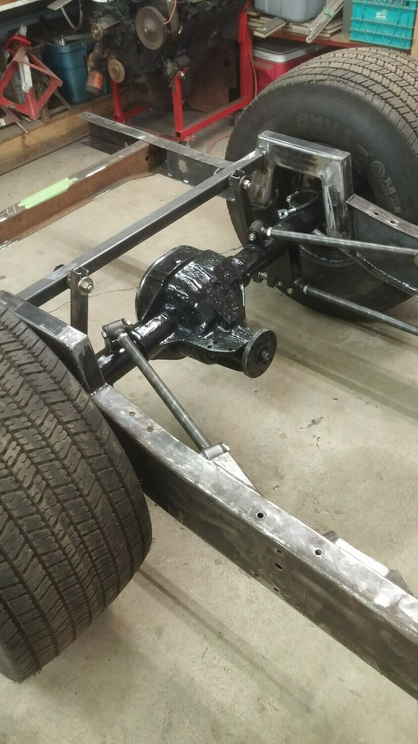 Triangulated Rear Four Link Kit