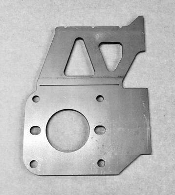Booster/ Master Cylinder Mounting Plate; Flat