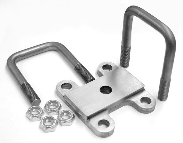 Front Clamp Plate & U-Bolt Kit