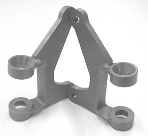 Front Axle Bracket Kit, for hairpins