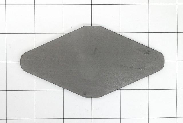 "Fishplate; 2-1/2"" x 5"""