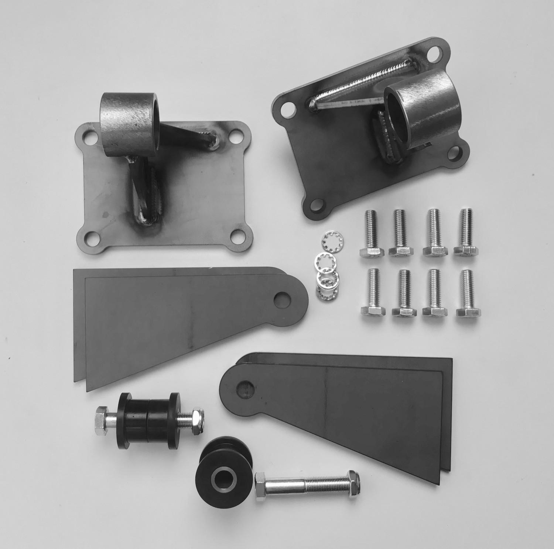 LS Engine Mount Kit, large bushings, universal