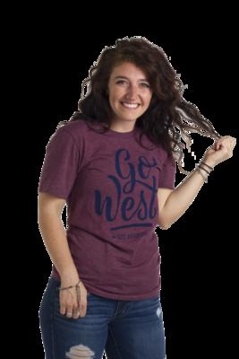 Go West Tee