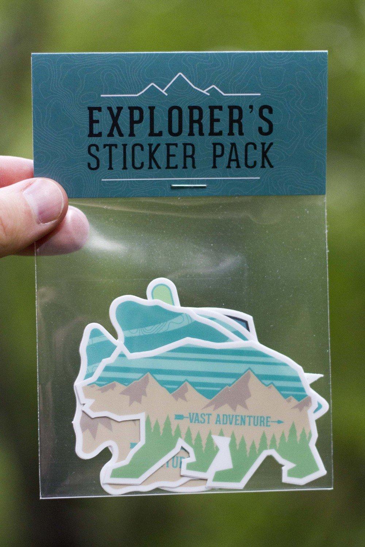 Explorer's Sticker Pack