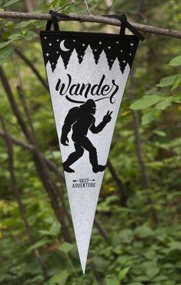 Wander Squatch Pennant