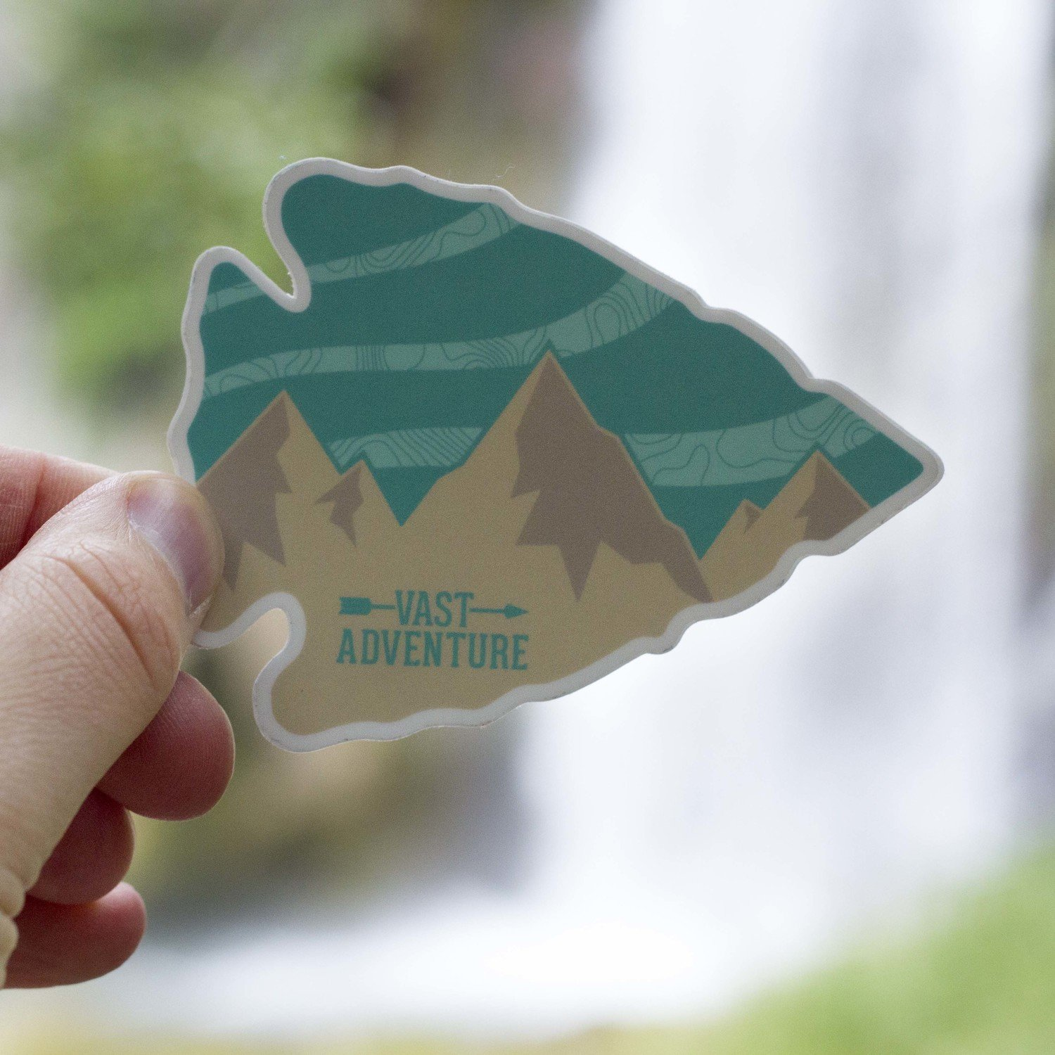Arrowhead Sticker