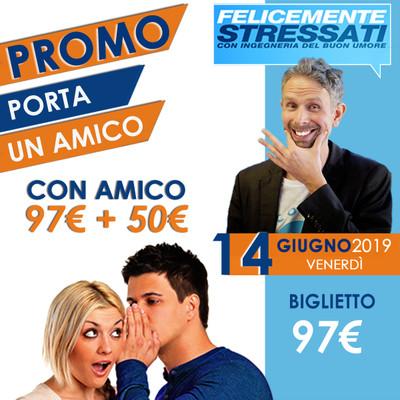 PROMO Biglietto Corso Felicemente Stressati - 14 Giugno 2019