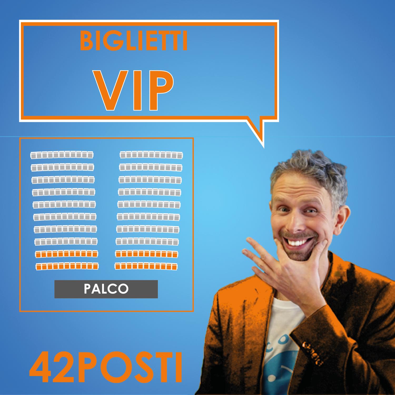 Biglietto VIP - Felicemente Stressati