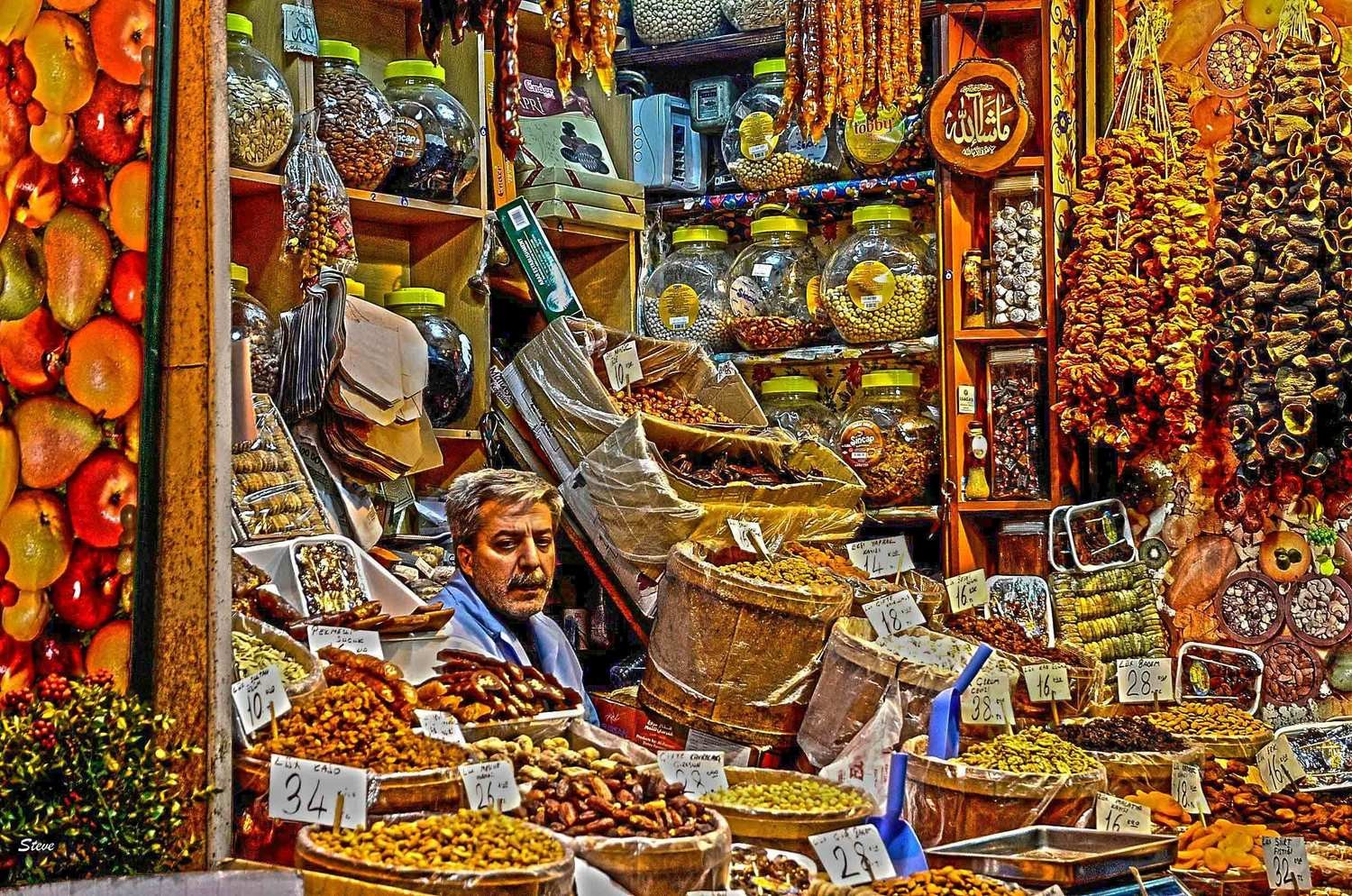 Grand Bazaar spices