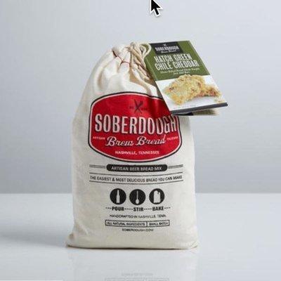Soberdough Hatch Green Chile & Cheddar Bread