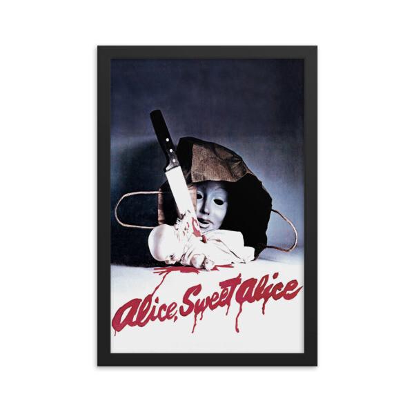 """12"""" x 18"""" Alice Sweet Alice Framed Movie Poster"""