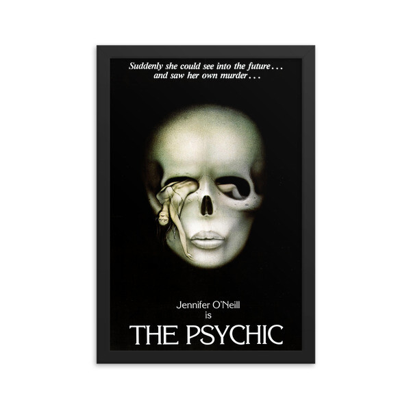 "12"" x 18"" The Psychic Framed Movie Poster"