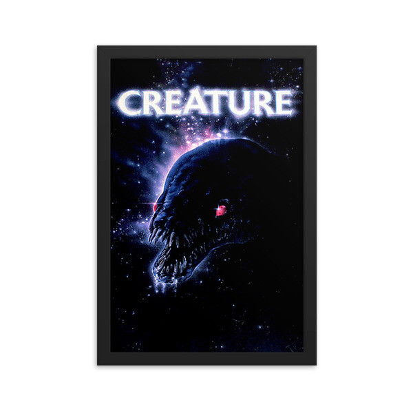 "12"" x 18"" Creature Framed Movie Poster"