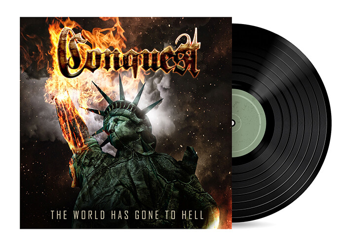 The World Has Gone to Hell by Conquest [Vinyl LP]