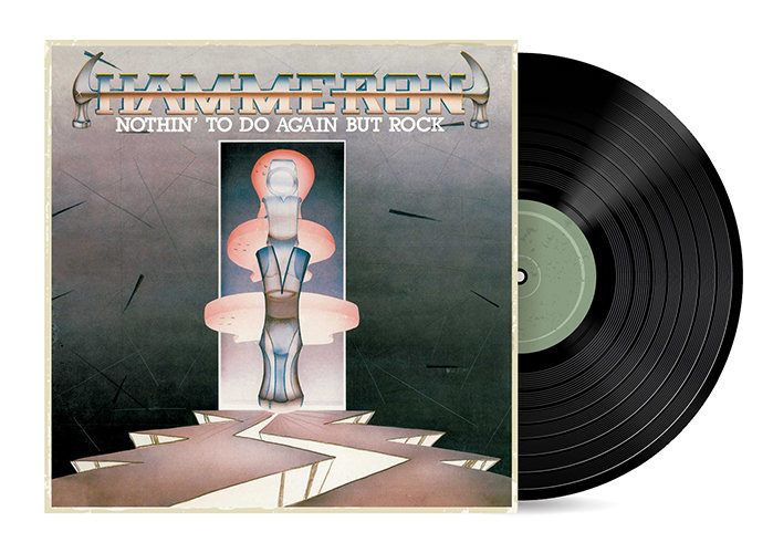 Nothin' To Do Again But Rock by Hammeron [Vinyl LP]
